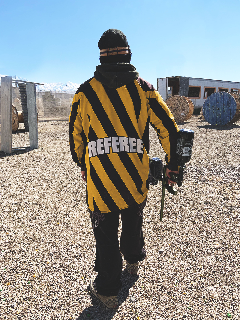 Paintball Safety Ref